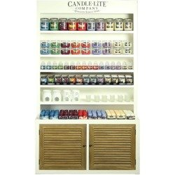 Candle-lite Paulownia Large display shelves 112 cm