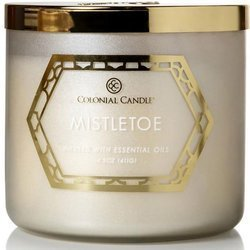 Colonial Candle Luxe large soy scented candle 3 wicks 14.5 oz 411 g - Mistletoe