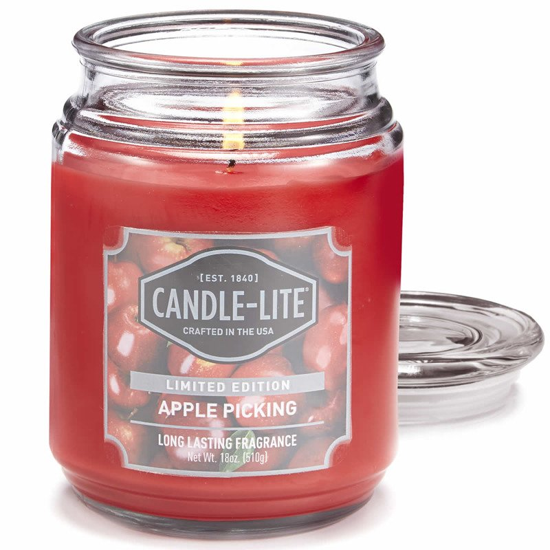 eng pl Candle lite Everyday Collection Terrace Jar Glass Scented Candle 18 oz 145 100 mm 510 g 110 h Cabin Retreat 6591 1