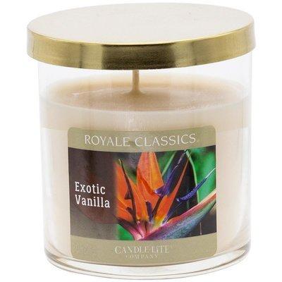 Candle-lite Royale Classics 8 oz luksusowa świeca zapachowa w szkle - Exotic Vanilla