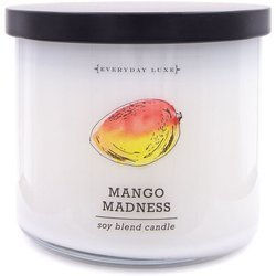 Colonial Candle Luxe sojowa świeca zapachowa w szkle 3 knoty 14.5 oz 411 g - Mango Madness