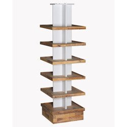 Candle-lite Tower ekspozytor regał wystawienniczy 178/52/52 cm